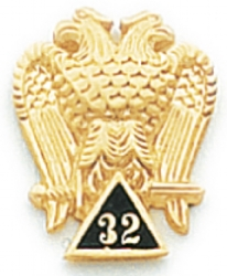 Scottish Rite Lapel Pin Model # 362371