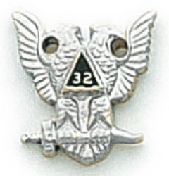 Scottish Rite Lapel Pin Model # 362374