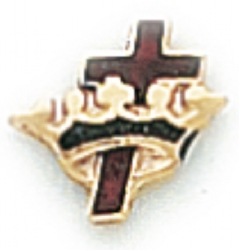 Knights Templar Lapel Pin Model # 362393