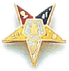 Eastern Star Lapel Pin Model # 362395