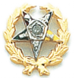 Eastern Star Lapel Pin Model # 362398