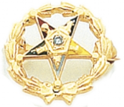 Eastern Star Lapel Pin Model # 362399