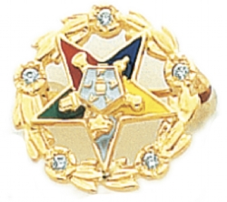 Eastern Star Lapel Pin Model # 362400