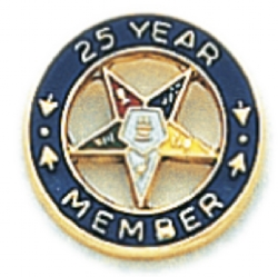 Eastern Star Lapel Pin Model # 362404