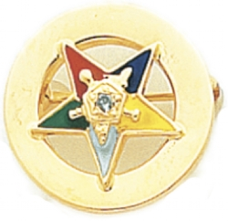 Eastern Star Lapel Pin Model # 362408