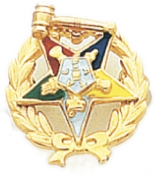 Eastern Star Lapel Pin Model # 362410
