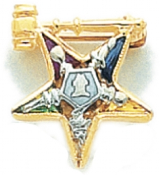 Eastern Star Lapel Pin Model # 362412