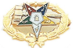 Eastern Star Lapel Pin Model # 362414