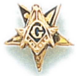 Eastern Star Lapel Pin Model # 362415