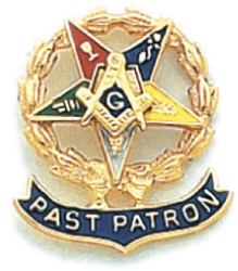 Eastern Star Lapel Pin Model # 362419