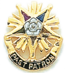 Eastern Star Lapel Pin Model # 362420