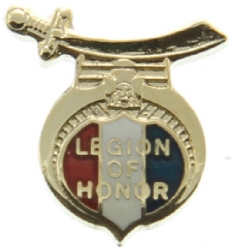 Legion of Honor Pin Model # 362615