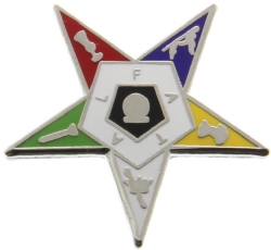Eastern Star Pin Model # 362629