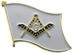 Square & Compass Flag Pin Model # 362631