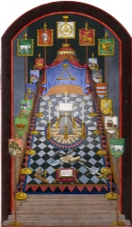 Harris Royal Arch Tracing Board Model # 363720