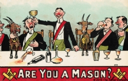 Are you a Mason? Postcard Model # 363740