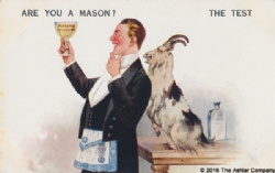 Are you a Mason? The Test Postcard Model # 363775