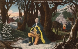 Washington at Valley Forge Postcard Model # 363779