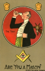 Are you a Mason? The Test Postcard Model # 363780
