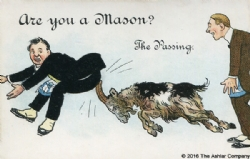 Are you a Mason? The Passing Postcard Model # 363784