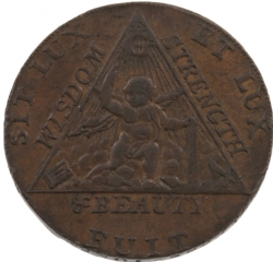 Sketchley Masonic Half-Penny Model # 363810