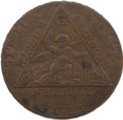 Sketchley Masonic Half-Penny Model # 363813