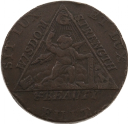 Sketchley Masonic Half-Penny Model # 363816