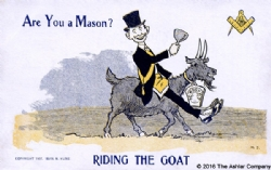 Are you a Mason? Riding the Goat Model # 363841