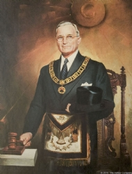 President Truman in Masonic Regalia Model # 363852
