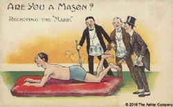 Are you a Mason? Receiving the Mark Model # 363940