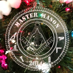 2014 Masonic Christmas Ornament Model # 363947