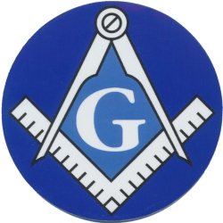 Blue Lodge Magnetic Car Emblem Model # 363972