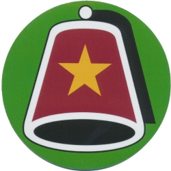 Shriners Fez Magnetic Car Emblem