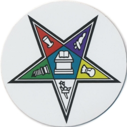 Eastern Star Magnetic Car Emblem Model # 363976