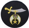 Shriners Schimitar Patch (Large) Model # 357484