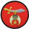 Shriners Schimitar Patch Model # 357486
