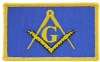 Masonic Flag Patch Model # 357489