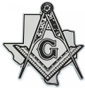Texas Mason Chrome Emblem Model # 357515
