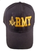 Black Army Hat Model # 357686