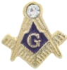Square & Compass Lapel Pin Model # 357730