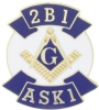 2B1 ASK1 Lapel Pin Model # 357737