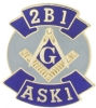 2B1 ASK1 Lapel Pin