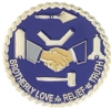Brotherly Love, Relief and Truth Pin