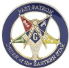 OES Past Patron Lapel Pin