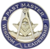 Past Master Cut Out Pin