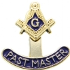 Past Master Square & Compass Pin Model # 357807