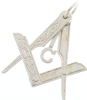 Folding Square & Compass Pendant Model # 357915