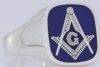 Design Your Own Signature Masonic Ring Model # 357950