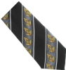 Black Square & Compass Diagonal Tie Model # 358554