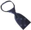 Navy Blue / Copen Square & Compass Zipper Tie Model # 358562